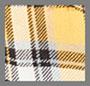 金丝雀黄格纹