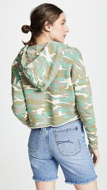 NSF Savannah Cropped Hoodie