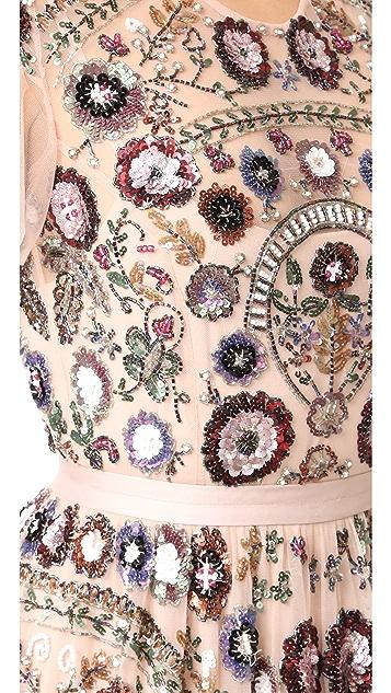 Needle & Thread Enchanted Lace Maxi Dress