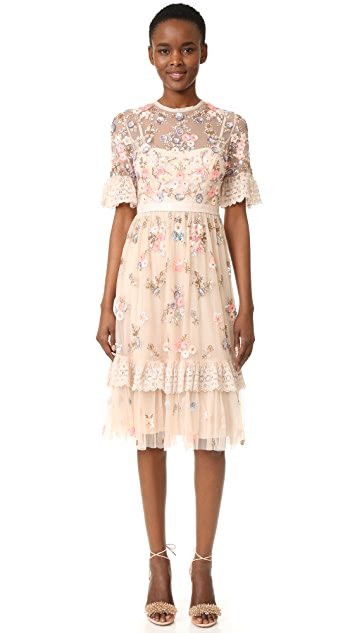 Needle & Thread Ditsy Scatter Dress