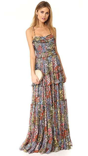 Needle & Thread Flowerbed Maxi Dress
