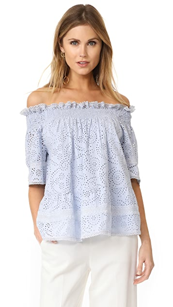 Needle & Thread Off the Shoulder Top