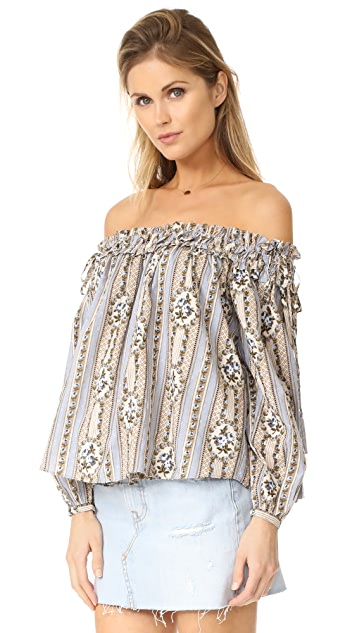 Needle & Thread Fleur Top