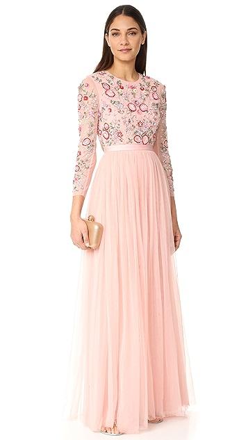 Needle & Thread Вечернее платье Meadow