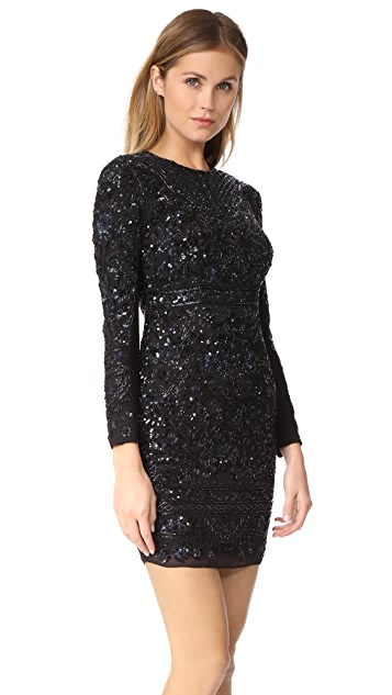 Needle & Thread Midnight Lace Dress