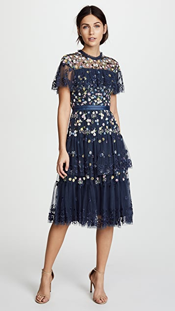 Needle & Thread Tiered Anglais Dress