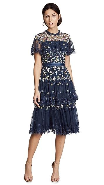 Needle & Thread Tiered Anglais Dress