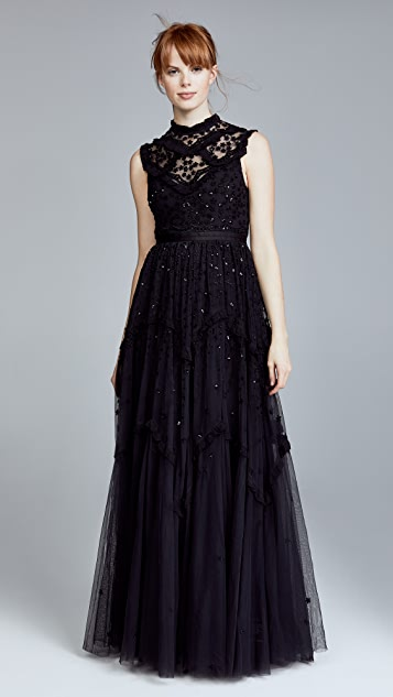 Needle & Thread Daisy Shimmer Gown