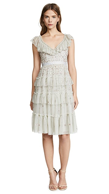 Needle & Thread Sunburst Midi Dress