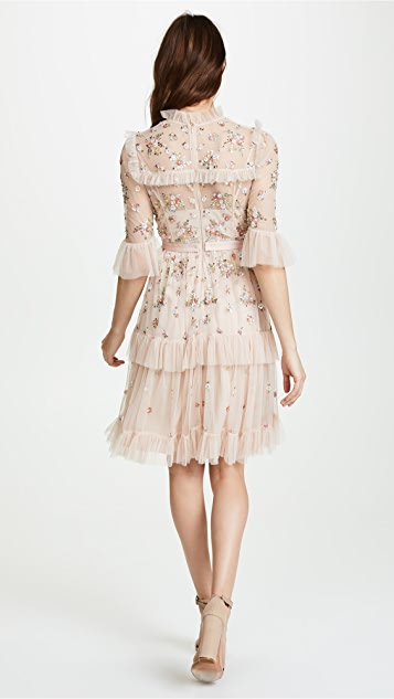 Needle & Thread Lustre Ruffle Dress