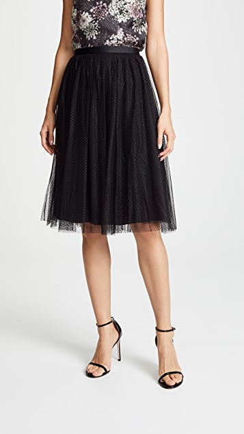utterly stylish top-rated discount how to buy Dotted Tulle Midi Skirt