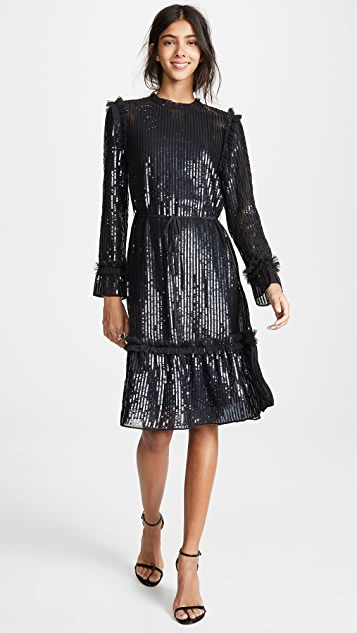 Needle & Thread Gloss Sequin Dress
