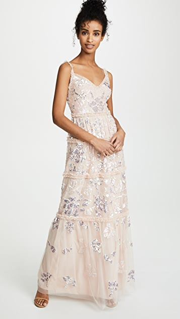 Needle & Thread Floral Gloss Gown