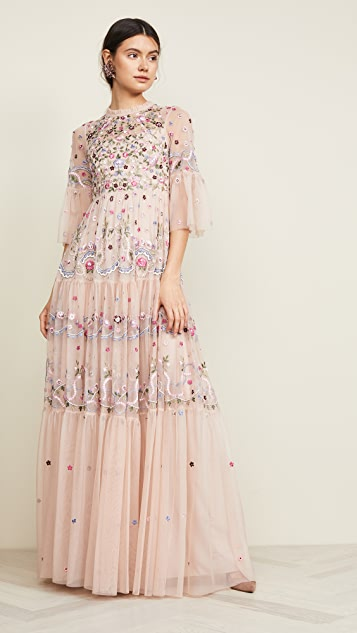 Needle & Thread Dreamers Lace Gown