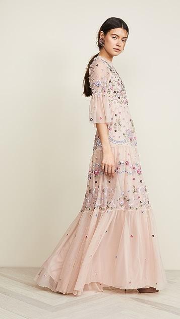 Needle & Thread Кружевное вечернее платье Dreamers