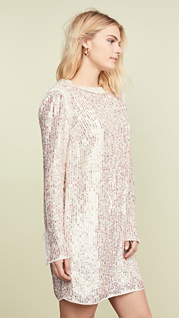 Needle & Thread Shimmer Mini Dress