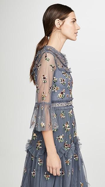 Needle & Thread Вечернее платье Magdalena