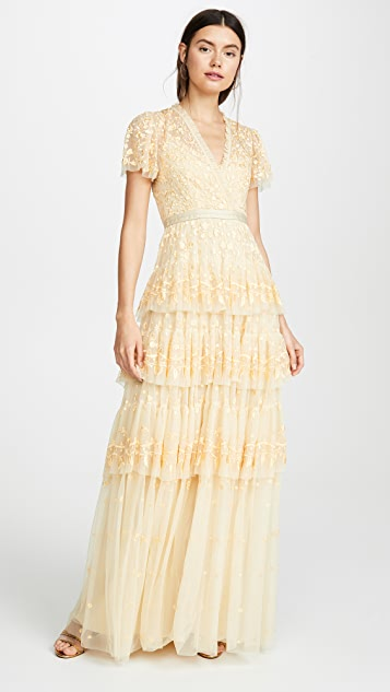Needle & Thread Angelica Lace Gown