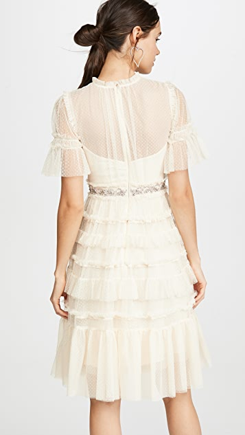 Needle & Thread Платье с декоративным бантом
