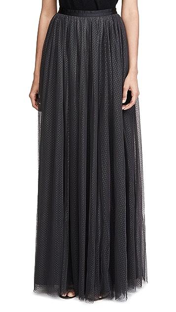 Needle & Thread Dotted Tulle Maxi Skirt