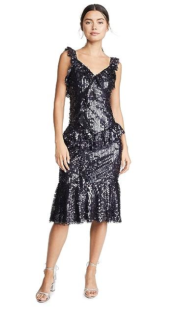 Needle & Thread Scarlett Sequin Midi Dress