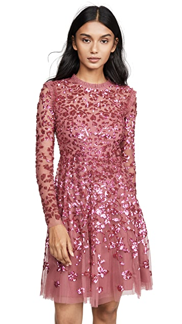 Needle & Thread Rosamund Sequin Dress