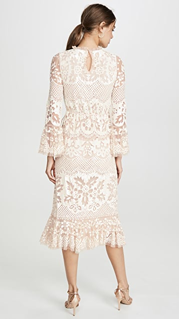 Needle & Thread Snowdrop Midaxi Dress