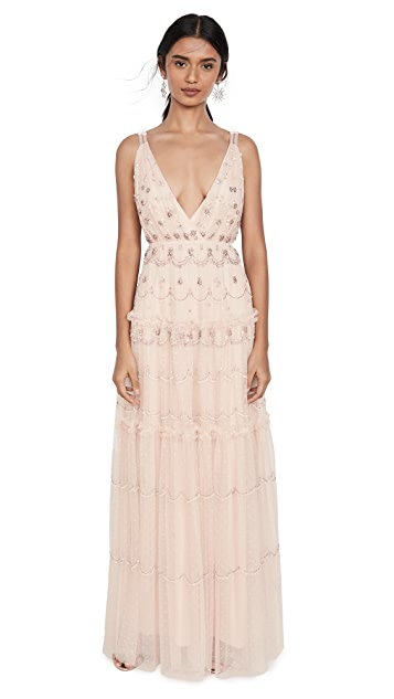 Needle & Thread Neve Embellished Gown