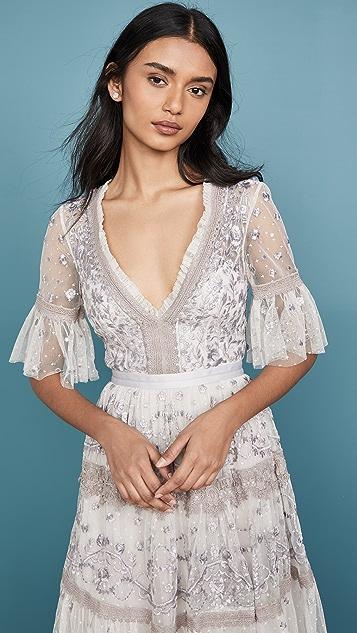 Needle & Thread Midsummer Lace Dress