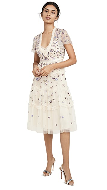 Needle & Thread Prarie Flora Dress