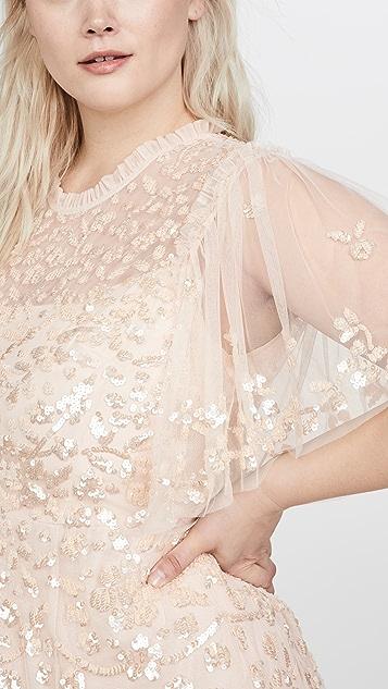 Needle & Thread Платье с цветочным рисунком Honesty