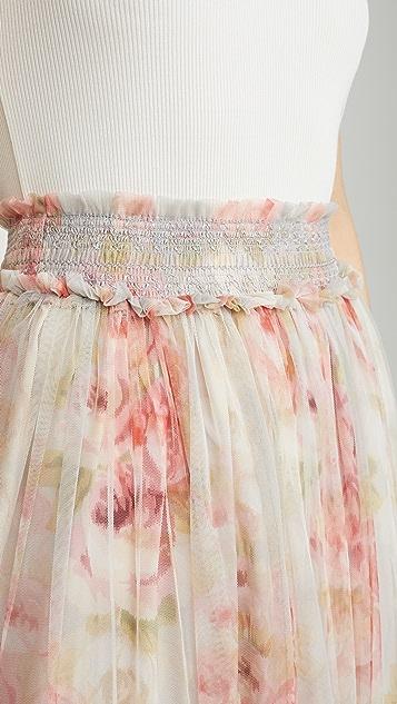 Needle & Thread Ruby Bloom 抽褶芭蕾舞半身裙
