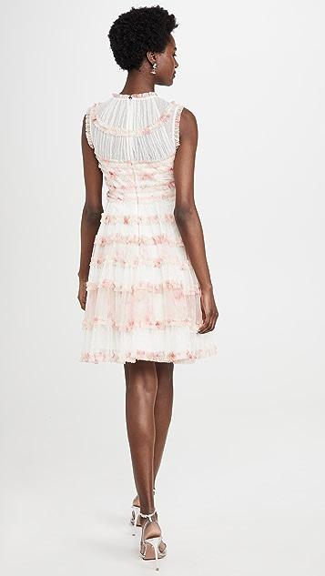 Needle & Thread Платье Memory Rose без рукавов