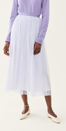 Needle & Thread - Gingham Ballerina Skirt
