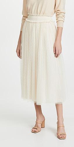 Needle & Thread - 蜂窝纹抽褶芭蕾舞半身裙