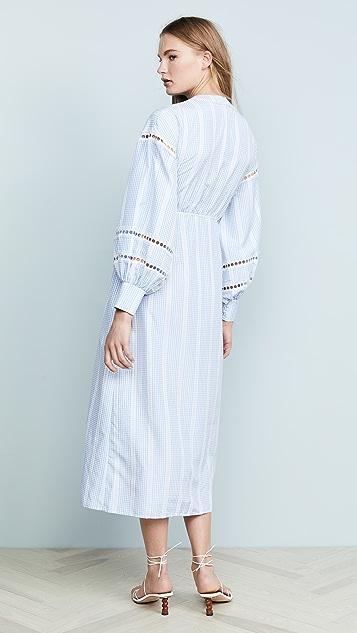 N12H Приталенное платье с прямой юбкой