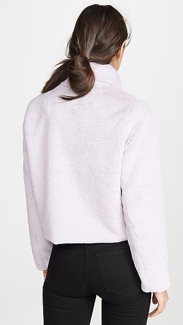 N12H 人造皮短夹克