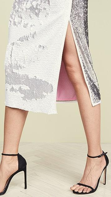 NUDE Sequin Skirt