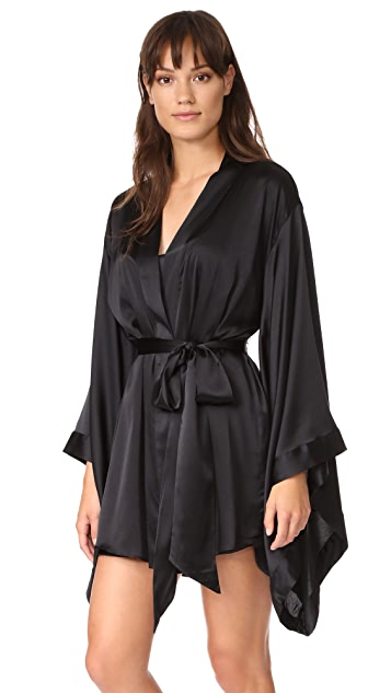 Nudwear Silk Kimono Robe