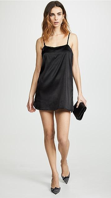 Nudwear Mini Silk Slip Dress