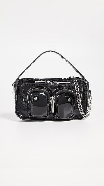 Nunoo Helena Patent Bag - Black