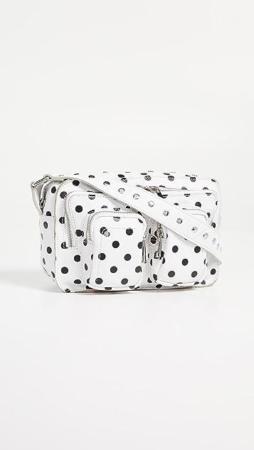 Nunoo Ellie Dots Bag - White/Black