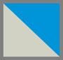 蓝色/银色