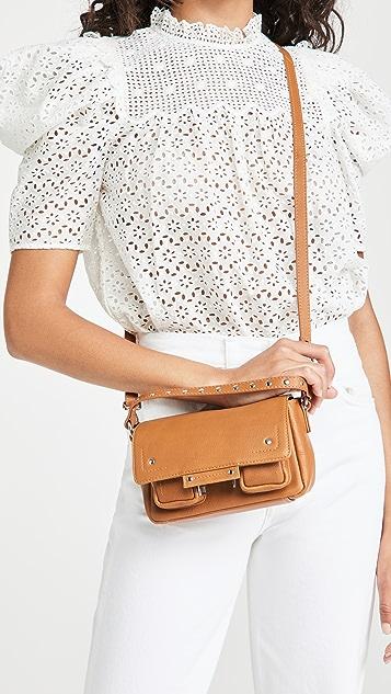 Nunoo Small Honey Leather Bag