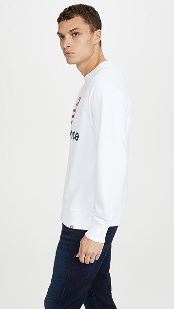 New Balance Essentials Stacked Logo Crew Neck Sweatshirt
