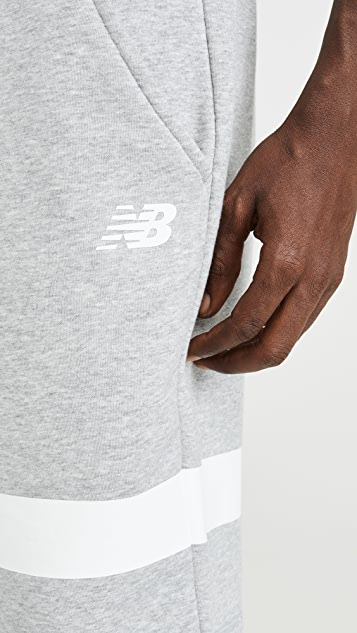 New Balance Reflective Logo Shorts