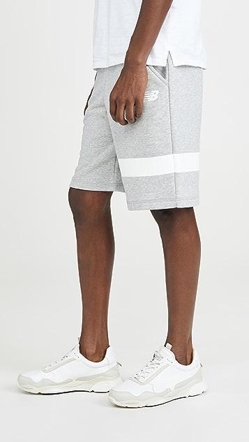 New Balance Reflective Logo Shorts