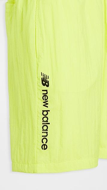 New Balance Sport Style Optiks Windbreaker Shorts