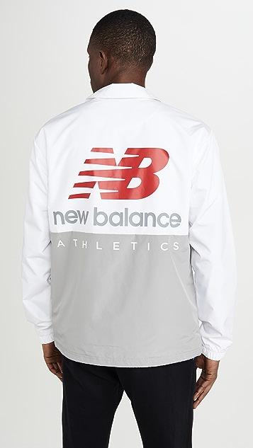 New Balance NB Essentials Icon Coaches Jacket