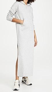 New Balance Staud Fleece Maxi Dress